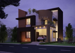 Duplex Villa